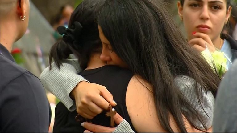 The mother of three children killed in a fatal crash in Australia said on Monday (February 3) that she forgives and does not hate the alleged drunk driver. Leila Geagea Abdallah said she was overwhelmed with the public support at a makeshift memorial at the crash site.