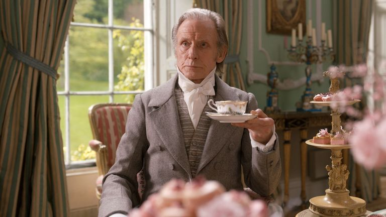 Bill Nighy stars as Mr Woodhouse in Emma. Pic: Focus Features