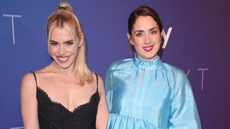 Billie Piper and Lucy Prebble, star and writer of new show I Hate Suzie, at the Sky Up Next launch event