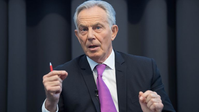 Tony Blair made a speech ahead of the 120th anniversary of the Labour Party