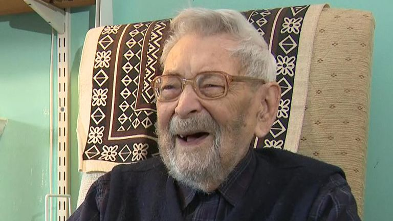 Bob Weighton told Sky News becoming the world's oldest man was 'just another fact of life'