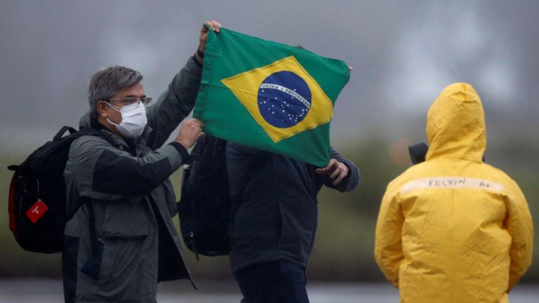 Brazil has confirmed its first case of coronavirus