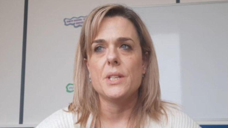 Social worker, Gillian Alcantara.