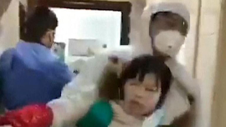A video circulating on social media shows people who had refused to self-quarantine being forcibly taken away, as China battles the outbreak of coronavirus.