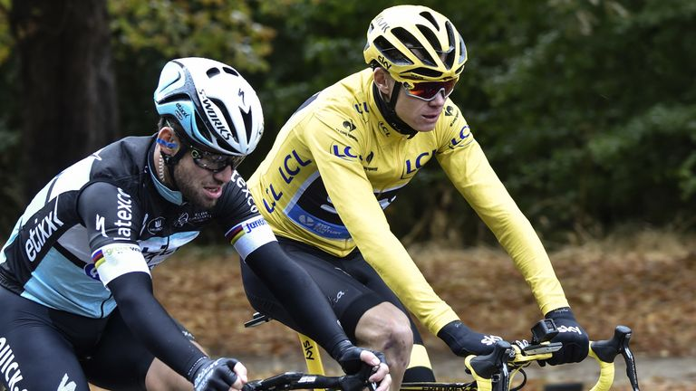 Chris Froome and Mark Cavendish are being tested for COVID-19 after two cyclists on the UAE Tour fell ill