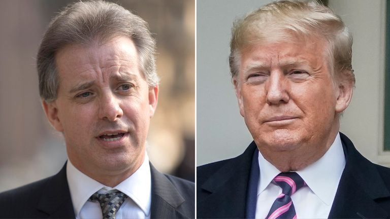 Christopher Steele and Donald Trump