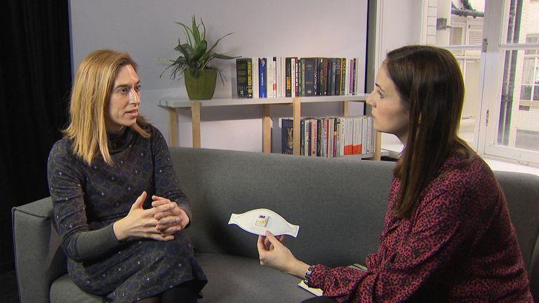 Dr Natalie MacDermott talks to Sky's Charlotte Lomas