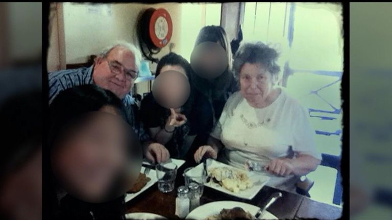 Peter Dansie has been jailed for life after  pushing his wife into a pond in her wheelchair. Pic: Channel 7