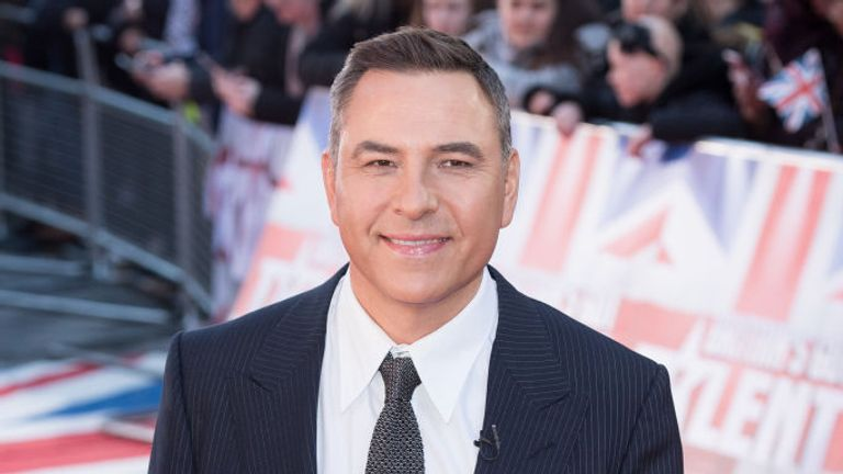 David Walliams gave Schofield his support