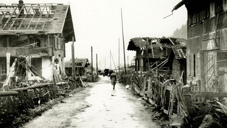 Many homes were destroyed in the 1947 explosion. Pic: DDPS