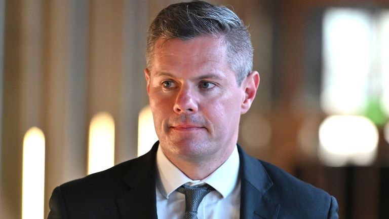 Derek Mackay said he had 'behaved foolishly'