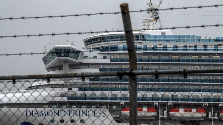 More than 70 Britons currently remain in quarantine aboard the Diamond Princess cruise ship in Japan