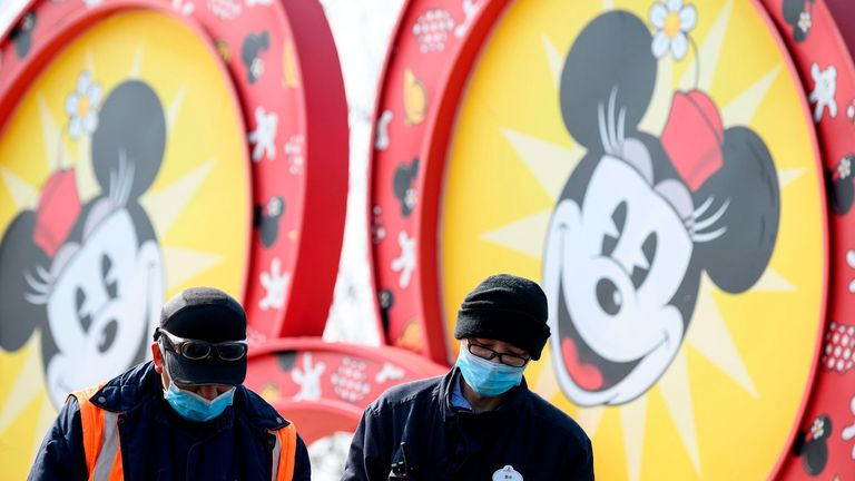 A Disney resort in Shanghai has closed over coronavirus fears