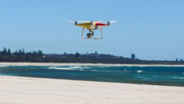 The drones could visit accident sites ahead of rescue teams