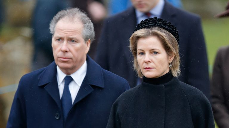 The Earl of Snowdon and Serena, Countess of Snowdon