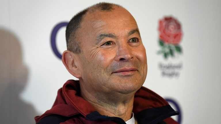 The England rugby coach was speaking ahead of the Six Nations match against Ireland