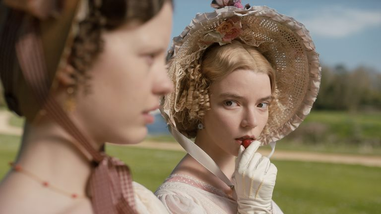 Anya Taylor-Joy stars as Emma. Pic: Focus Features