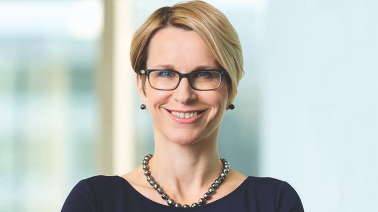 Emma Walmsley became CEO of GSK in April 2017