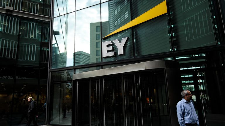 The Ernst & Young (EY) offices