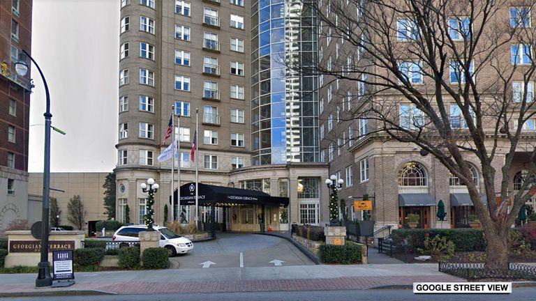 The Georgian Terrace Hotel in Atlanta