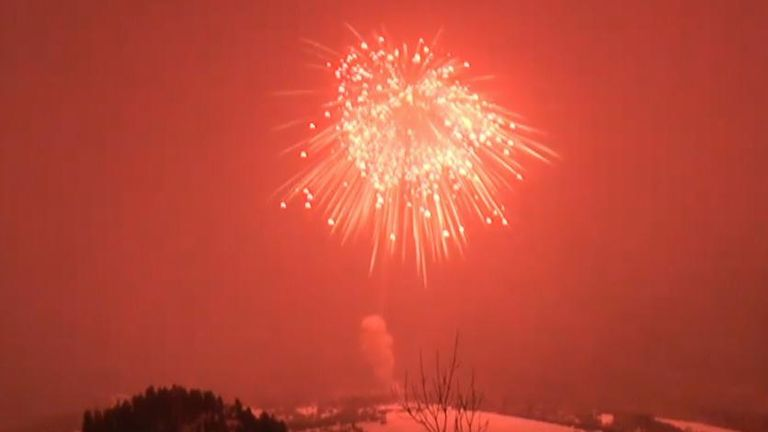 The biggest firework ever explodes over Colorado
