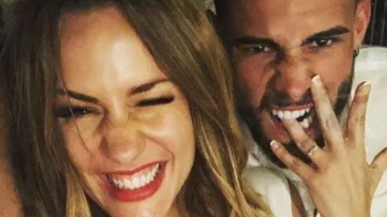 Caroline Flack's ex-fiance has broken his silence following her death