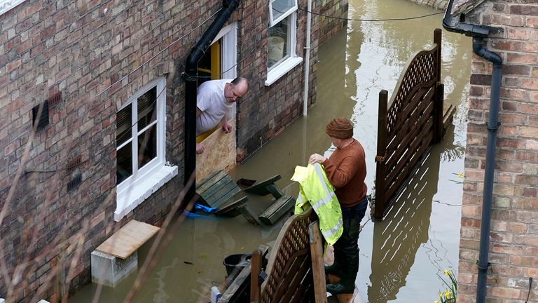 Ironbridge, Shrewsbury and Worcester are the main areas at risk of flooding