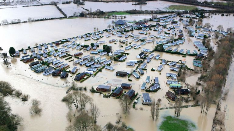 Flooding in Warwickshire in 2012