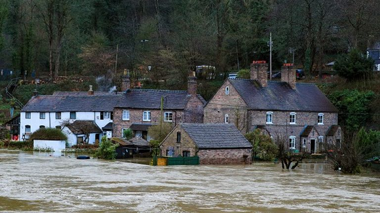 Emergency evacuations have taken place in Ironbridge