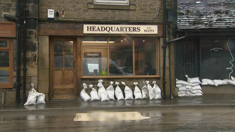 Businesses in Mytholmroyd in the Upper Calder Valley are preparing for further floods
