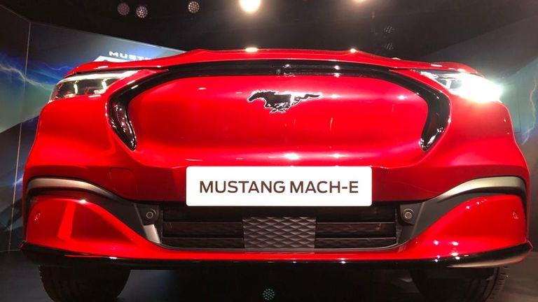 Ford's new all-electric Mustang Mach-E 13/2/2020