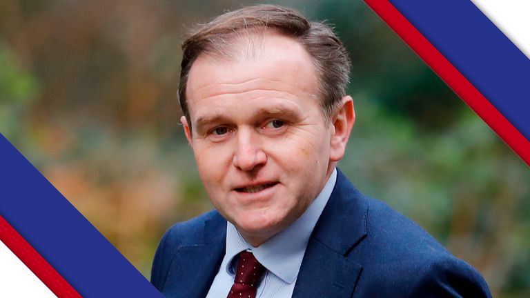 Environment minister George Eustice