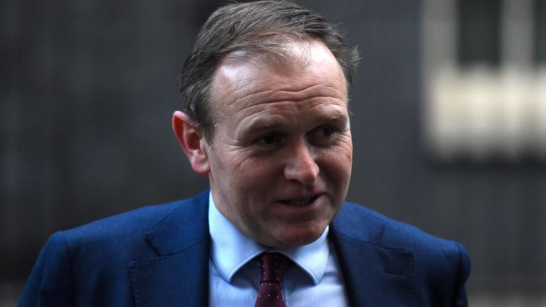 Environment secretary George Eustice