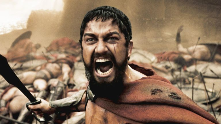 Gerard Butler played Sparta's King Leonidas in 300