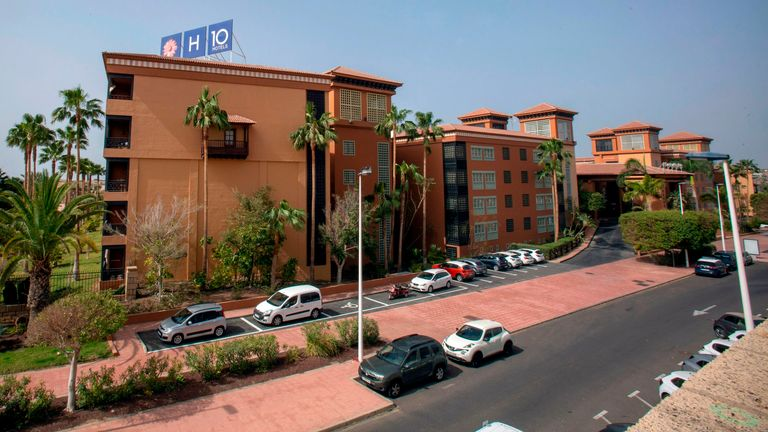 The H10 Costa Adeje Palace in Tenerife