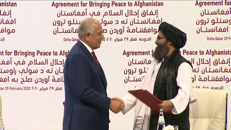US and Taliban sign historic peace deal
