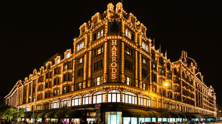 Mrs Hajijeva spent more than £16m in Harrods between September 2006 and June 2016