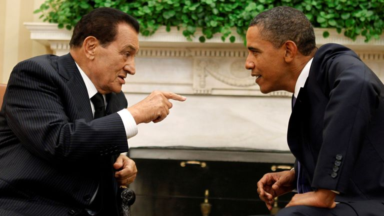 Mubarak was a strong ally of the US