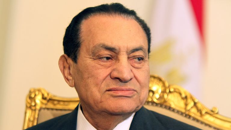 Hosni Mubarak ruled Egypt for three decades before being ousted in 2011