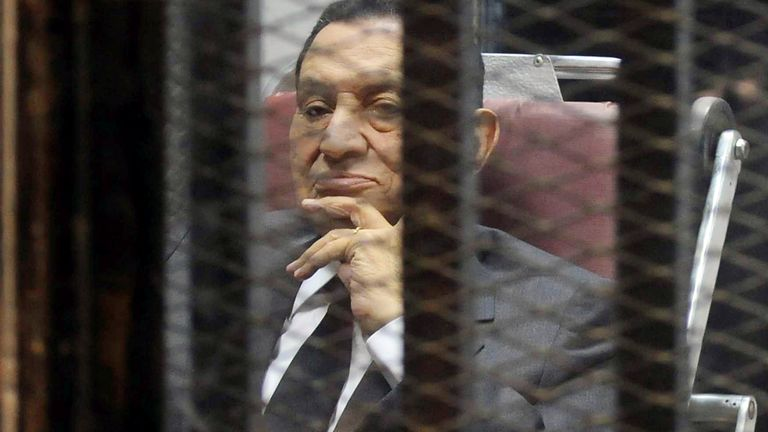 Hosni Mubarak was jailed for years after he was ousted