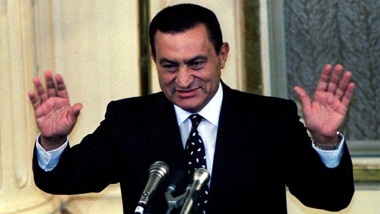 Former Egyptian President Hosni Mubarak has died, aged 91