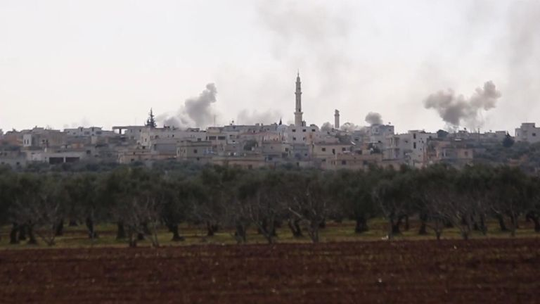 Idlib, one of the last remaining pockets of Syria not yet back in Syrian government control