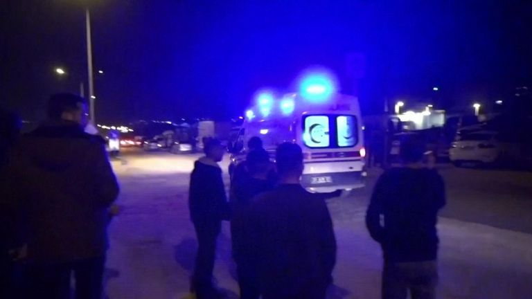 Several Turkish soldiers have been seriously wounded