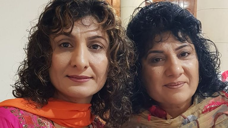 Nazia (left) and Samina Iqbal came out as gay 20 years ago