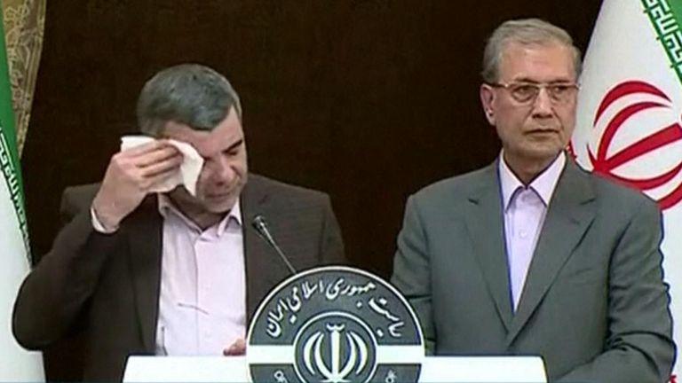 Iranian deputy health minister Iraj Harirchi has coronavirus
