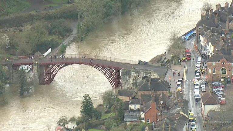 Image result for ironbridge floods