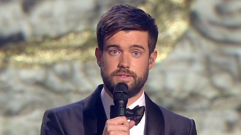 Brit Awards presenter Jack Whitehall pays tribute to Caroline Flack