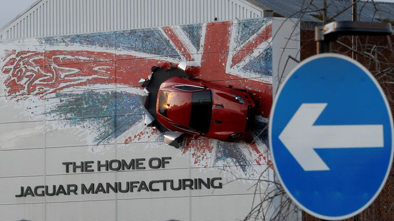 Jaguar's Castle Bromwich manufacturing facility in Birmingham