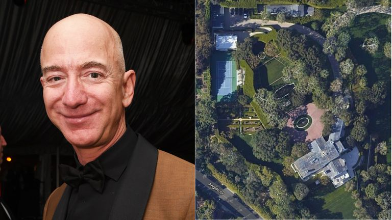 It isn't clear if the Amazon founder will make the estate his main home
