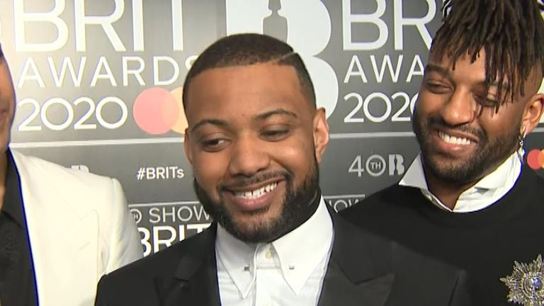 Singer JB Gill talks about reforming with JLS and their plans for touring